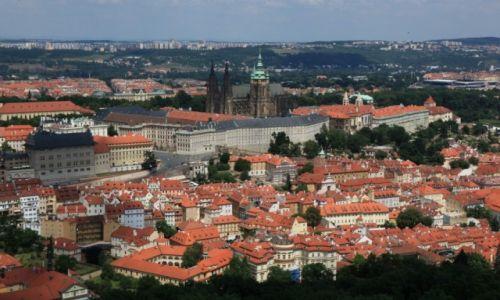 Zdjęcie CZECHY / Praga / Wzgórze Petrin  / Hradczany