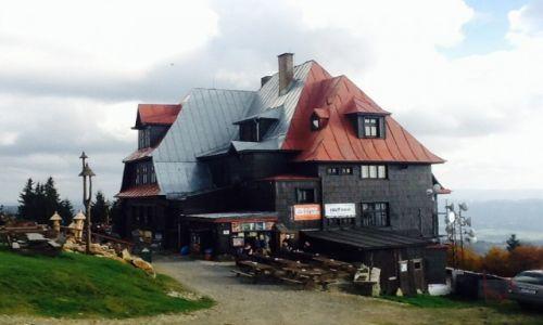 Zdjęcie CZECHY / Rożnov / Radhošť, pol. Radhoszcz (1129 m n.p.m.)  / Hotel Radegast
