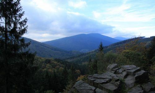 Zdjęcie CZECHY / Morawy / W drodze na Łysą Górę / Beskidzkie szczyty