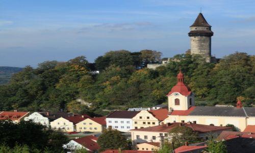 Zdjęcie CZECHY / Morawy / Stramberk / Miasteczko z zamkiem