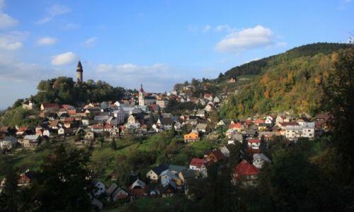 CZECHY / Morawy / Stramberk / Panorama miasta
