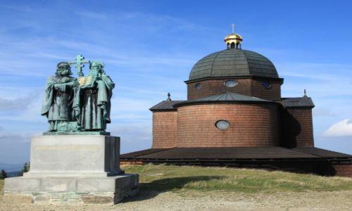 Zdjęcie CZECHY / Morawy / Radhost / Kościół św. Cyryla i Metodego
