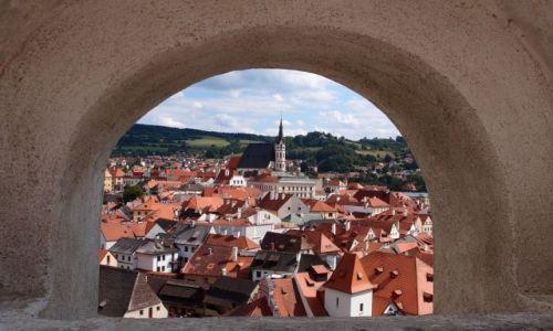 Zdjecie CZECHY / Kraj południowoczeski / Czeski Krumlov / Stare Miasto