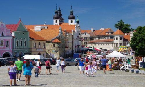 Zdjęcie CZECHY / Wysoczyna / Telcz / Rynek