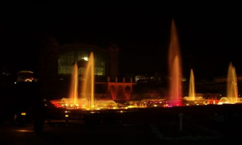 Zdjecie CZECHY / praga / krizikova fontanna / krizikova fontanna