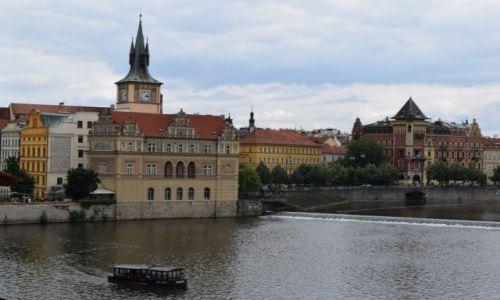 Zdjecie CZECHY / Praga / Praga / Widok na Wełtawę