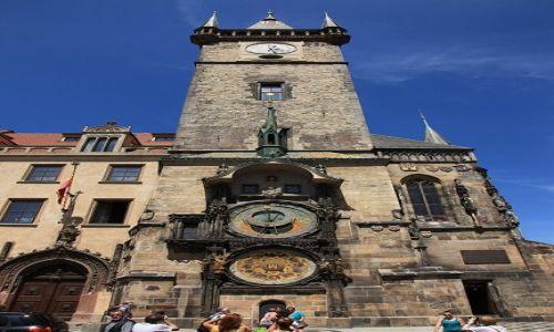 Zdjęcie CZECHY / Praga / Rynek Staromiejski / Ratusz staromiejski