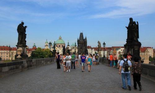 Zdjęcie CZECHY / Praga / Most Karola / Spacer