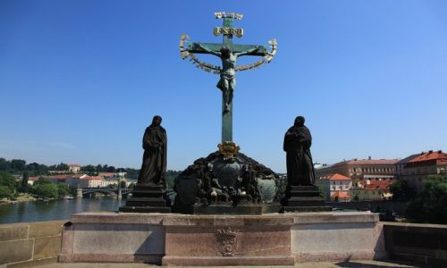 Zdjęcie CZECHY / Praga / Most Karola / Golgota