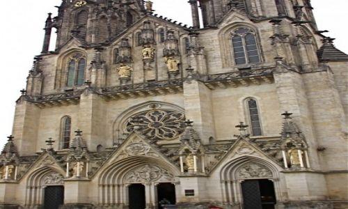 Zdjecie CZECHY / Morawy /  przed Katedrą Św. Vita / Katedra w Ołomuńcu