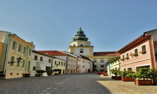 Zdjecie CZECHY / Morawy / Kroměříž / Zamek w Kroměříž, widok
