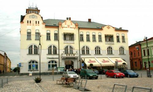 Zdjecie CZECHY / Morawy / Rynek w Litovelu / Litovel