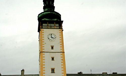 Zdjecie CZECHY / Morawy / Wieża ratuszu w Liovelu / Litovel