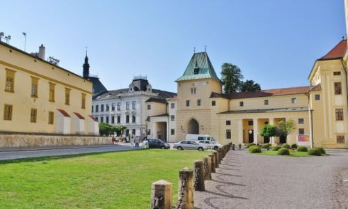 Zdjęcie CZECHY / Morawy / Kromeriż / Kromeriż