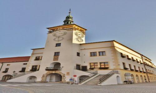 Zdjęcie CZECHY / Morawy / Kromeriż / Kromeriż, ratusz