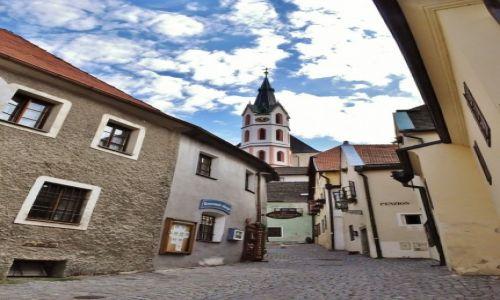 Zdjęcie CZECHY / Czechy / Krumlov / Krumlov, widoki