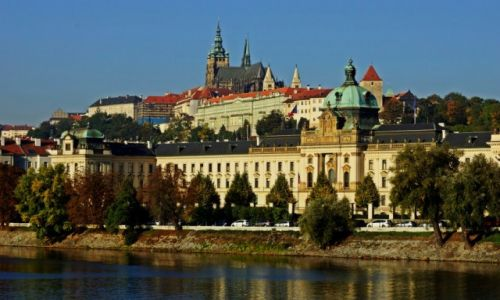 Zdjęcie CZECHY / Czechy / Praga / Wzgórze Wyszehradzkie.