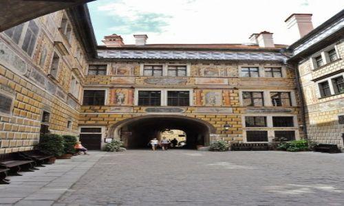 Zdjęcie CZECHY / Czechy / Krumlov / Krumlov, zamek