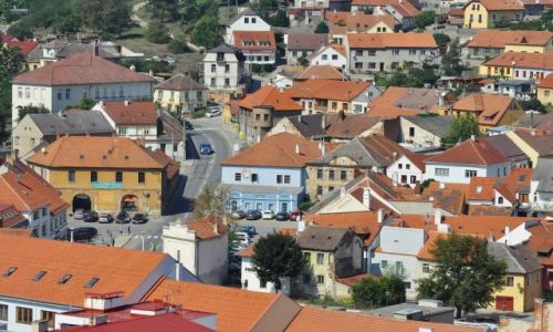 Zdjęcie CZECHY / Czechy / Trebic / Trebic, dzielnica żydowska