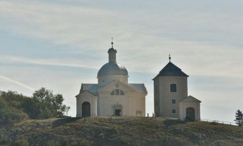Zdjęcie CZECHY / Morawy / Mikulov / Mikulov, święty pagórek