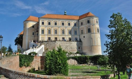 Zdjęcie CZECHY / Morawy / Mikulov / Mikulov, zamek