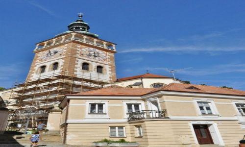 Zdjęcie CZECHY / Morawy / Mikulov / Mikulov, Kościół św. Wacława