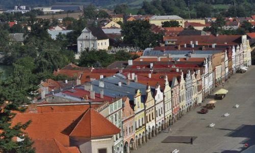 Zdjecie CZECHY / Morawy / Telc / Telc, krajobraz