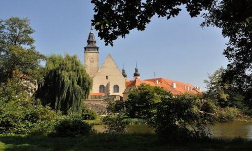 CZECHY / Morawy / Telc / Telc, miasto