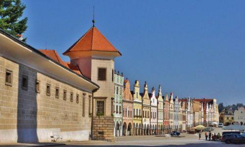 Zdjecie CZECHY / Morawy / Telc / Telc, miasto