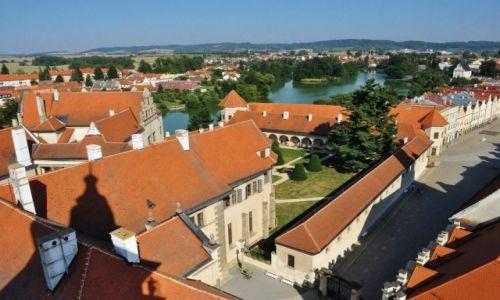 Zdjecie CZECHY / Morawy / Telc / Telc, zamek