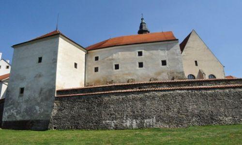 Zdjęcie CZECHY / Morawy / Telc / Telc, zamek