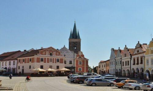 Zdjęcie CZECHY / Morawy / Telc / Telc, miasto