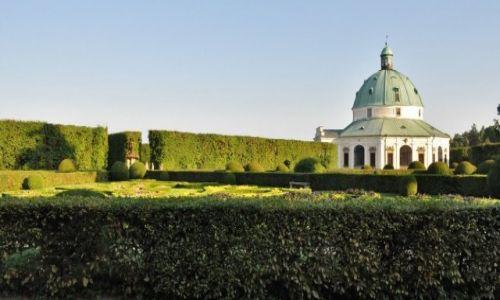 Zdjęcie CZECHY / Morawy / Kromeriż / Kromeriż, ogród kwiatowy