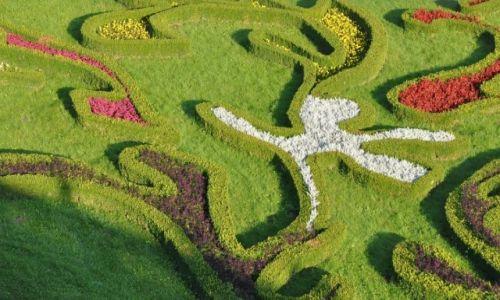 Zdjecie CZECHY / Morawy / Kromeriż / Kromeriż, ogród kwiatowy