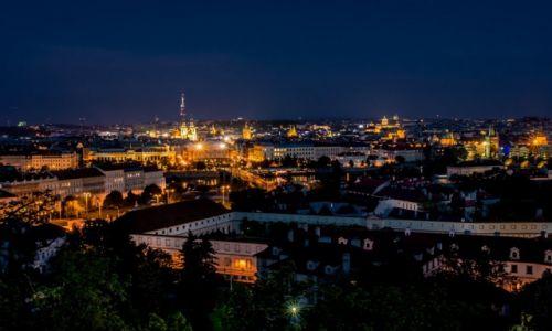 Zdjecie CZECHY / Praha / Praha / widok z Hradczan