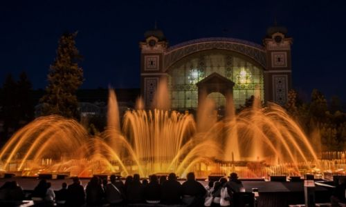 Zdjecie CZECHY / - / Praha / Kriżykowe fontanny