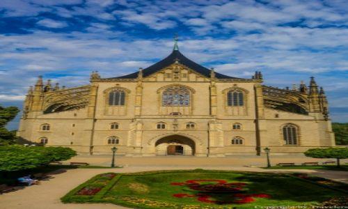 Zdjęcie CZECHY / Kraj Środkowoczeski / Kutna Hora / Kościół św Barbary