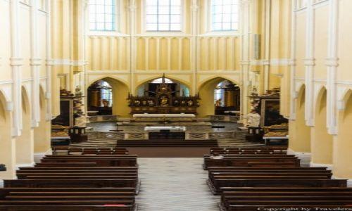 Zdjęcie CZECHY / Kraj Środkowoczeski / Kutna Hora / Wnętrze Kościoła Wniebowzięcia NMP