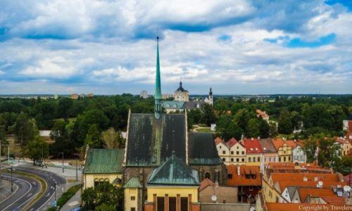 Zdjecie CZECHY / Kraj Pardubicki / Pardubice / Widok z wieży widokowej