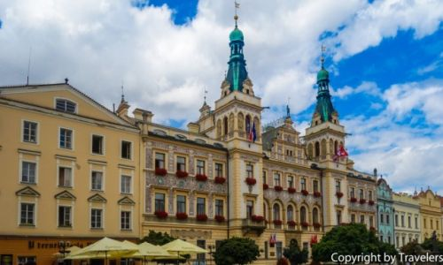 Zdjęcie CZECHY / Kraj Pardubicki / Pardubice / Ratusz