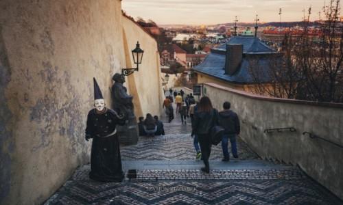 Zdjęcie CZECHY / Praga / Hradczany / Maska