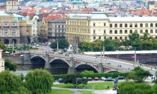 Zdjęcie CZECHY / Kraj środkowo czeski / Praga / Widok na Pragę
