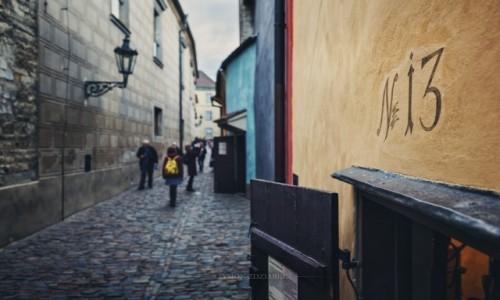 Zdjęcie CZECHY / Praga / Hradczany / Złota uliczka