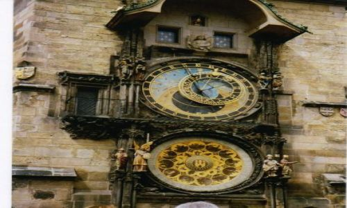 Zdjecie CZECHY / Czechy / Praga / Zegar Orloj