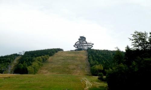 Zdjęcie CZECHY / Wielka Morava / Dolna Morava / Ścieżka w chmurach z daleka