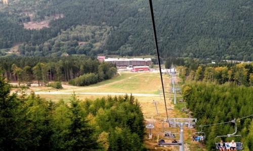 Zdjęcie CZECHY / Wielka Morawa / Dolna / Widok na dolną stację wyciągu