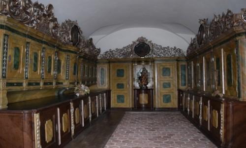 Zdjecie CZECHY / Kralovohradecki / Kuks / Wn�trza Kuks