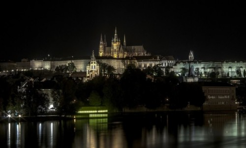 Zdjecie CZECHY / Praga / Praga / Praga noc�