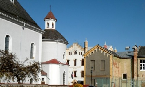 Zdjęcie CZECHY / Jeseniky / Javornik / Bogatsze zaplecze kościoła.