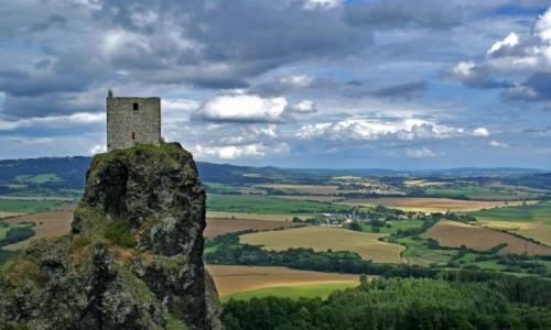 Zdjęcie CZECHY / Czeski Raj / Czeski Raj / Ruiny zamku Trosky